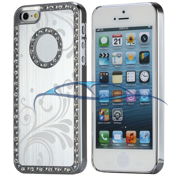 glitzer case h lle f r iphone 5 auto media. Black Bedroom Furniture Sets. Home Design Ideas