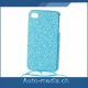 Glitzer Hard Case / hellblau (iPhone 5)