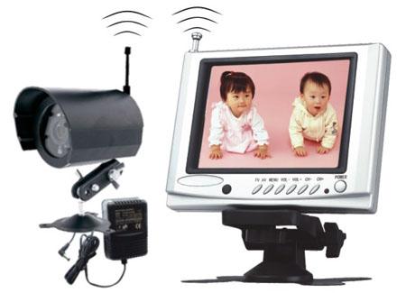 wireless baby monitor mit tft monitor und kamera auto media. Black Bedroom Furniture Sets. Home Design Ideas